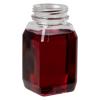 4 oz. WH Square PET Beverage Bottle with 38mm DBJ Neck (Cap Sold Separately)