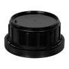 Black Tamper Evident Cap with Foam/Aluminum Liner for Chem50 Bottle