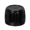 Black Tamper Evident Screw Cap with Foam/Aluminum Liner for AP28 Bottle
