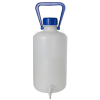 5L Kartell Heavy Walled Narrow Mouth HDPE Carboy with Spigot