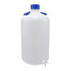 50L Kartell Heavy Walled Narrow Mouth HDPE Carboy with Spigot