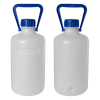 5L Heavy Walled Narrow Mouth HDPE Round Carboy
