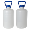 10L Heavy Walled Narrow Mouth HDPE Round Carboy