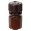 8mL Nalgene™ Narrow-Mouth Translucent Amber HDPE Bottle with 20/415 Cap