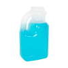 64 oz. Natural Polypropylene Jug with 63/400 Neck & Handle (Cap Sold Separately)