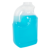 128 oz. Natural Polypropylene Jug with 63/400 Neck & Handle (Cap Sold Separately)