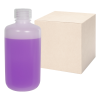 8 oz./250mL Nalgene™ Lab Quality Narrow Mouth HDPE Bottles with 24mm Caps - Case of 72