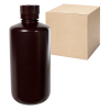 32 oz./1000mL Nalgene™ Narrow Mouth Amber Bottles with 38/430 Caps - Case of 24