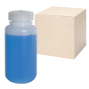 8 oz./250mL Nalgene™ Lab Quality Wide Mouth HDPE Bottles with 43mm Caps - Case of 72
