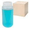 16 oz./500mL Nalgene™ Lab Quality Wide Mouth Polypropylene Bottles with 53mm Caps - Case of 48