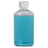 6 oz. Clear PET Drug Oblong Bottle with 24/410 CRC Cap