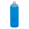 32 oz. HDPE Translucent Tall Cosmo Bottle with 28/410 Neck (Cap Sold Separately)