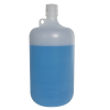 4 Liter Diamond® RealSeal™ PP Large Format Round Narrow Mouth Bottle with 38/430 Cap