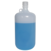 4 Liter Diamond® RealSeal™ LDPE Large Format Round Bottle with 38/430 Cap