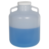 10 Liter Diamond® RealSeal™ Round Wide Mouth LDPE Carboy