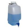 20 Liter Diamond® RealSeal™ Rectangular Polypropylene Carboy with Spigot