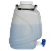 10 Liter Diamond® RealSeal™ Rectangular HDPE Carboy with Spigot