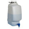 20 Liter Diamond® RealSeal™ Rectangular HDPE Carboy with Spigot