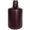 20 Liter Diamond® RealSeal™ Round Amber HDPE Carboy