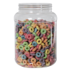 89 oz. Clear PET Jar with 110/400 Neck (Caps Sold Separately)