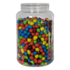 107 oz. Clear PET Jar with 110/400 Neck (Caps Sold Separately)