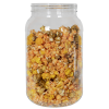 128 oz. (1 Gallon) Clear PET Jar with 120/400 Neck (Caps Sold Separately)