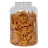 225 oz. Clear PET Jar with 120/400 Neck (Caps Sold Separately)