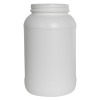 128 oz./1 Gallon Wide Mouth Natural HDPE Round Jar with 110/400 Neck