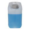5 Liter/1.32 Gallon Natural HDPE Jerrican with 51mm Tamper-Evident Cap