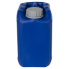 5 Liter/1.32 Gallon Blue HDPE Jerrican with 51mm Tamper-Evident Cap