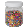8 oz. Clear PET Jar with 63/400 Cap