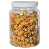 68 oz. Clear PET Jar with 110/400 Cap