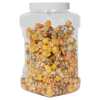 128 oz. Clear PET Plaza Square Grip-It Jar with 110/400 Cap