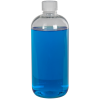 12 oz. Clear PET Traditional Boston Round Bottle with 24/410 CRC Cap