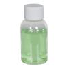 1 oz. Clear PET Squat Boston Round Bottle with 20/410 Plain Cap