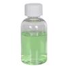 2 oz. Clear PET Squat Boston Round Bottle with 20/410 CRC Cap