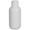 2 oz. HDPE White Boston Round Bottle with 20/410 Plain Cap with F217 Liner