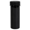 8 oz./240cc Black PET Aviator Container with Black CR Cap & Seal