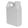 16 oz. White Fluorinated F-Style Jug with 33/400 CRC Cap