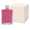 1 oz. Clear Rectangular Glass Bottle with 15/415 Neck - Case of 192 (Cap Sold Separately)