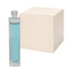 50mL Clear Tall Rectangular Glass Bottle with 18/415 Neck - Case of 160 (Cap Sold Separately)