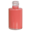 1/2 oz. Clear Stubby Cylinder Glass Bottle with 15/415 Neck (Cap Sold Separately)