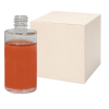2 oz. Clear Stubby Cylinder Glass Bottle with 18/415 Neck - Case of 144 (Cap Sold Separately)