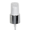 "20/400 White/Silver Smooth Long Shell Treatment Pump - 3-1/4"" Dip Tube"
