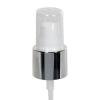 "20/400 White/Silver Smooth Long Shell Treatment Pump - 3-1/4"" Dip Tube"