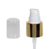 "20/400 White/Gold Smooth Long Shell Treatment Pump - 3-1/4"" Dip Tube"