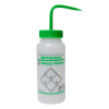 500mL Methanol Safety Vented® Labeled Wash Bottles