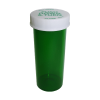 6 Dram Green Vial with Push & Turn CRC Cap