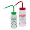 Scienceware® Safety Vented® Labeled Wash Bottles