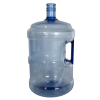 5 Gallon Blue PET Water Jug with Handle & 55mm Neck (Cap Sold Separately)